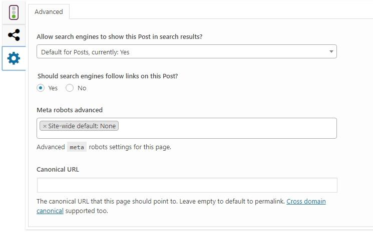 Yoast SEO Review Setting Search Engine Settings for a Post