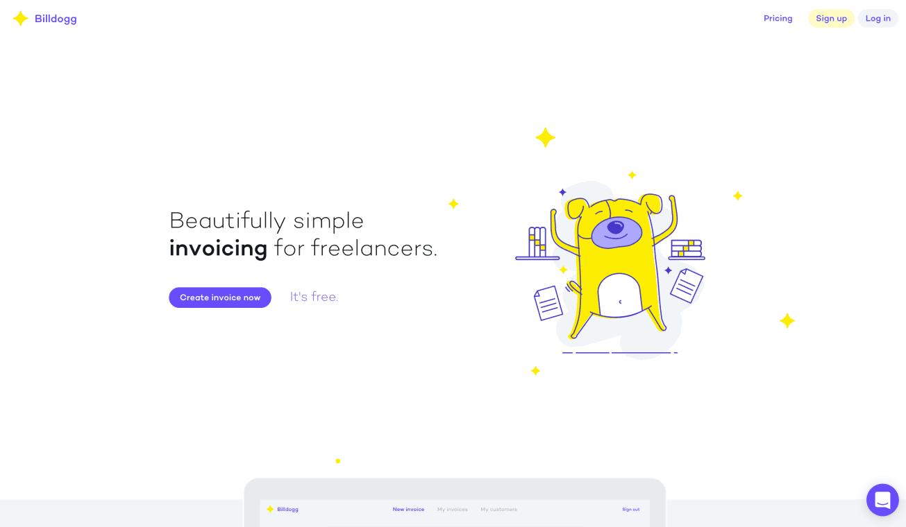 Website of Billdogg