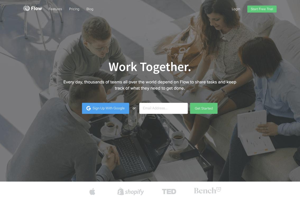 Website of Flow