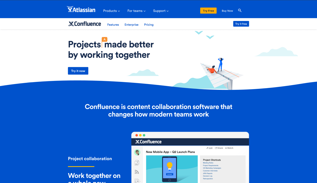 Website of Confluence