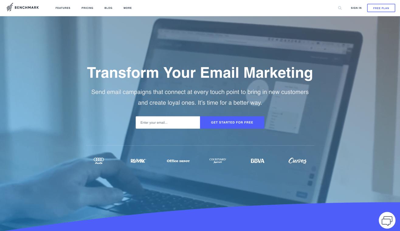 Website of Benchmark