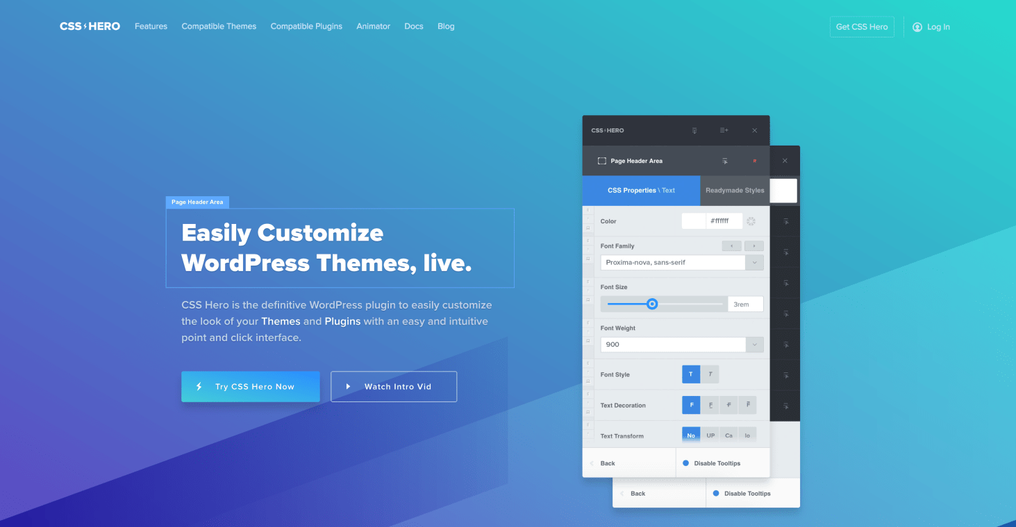 Website of CSS Hero