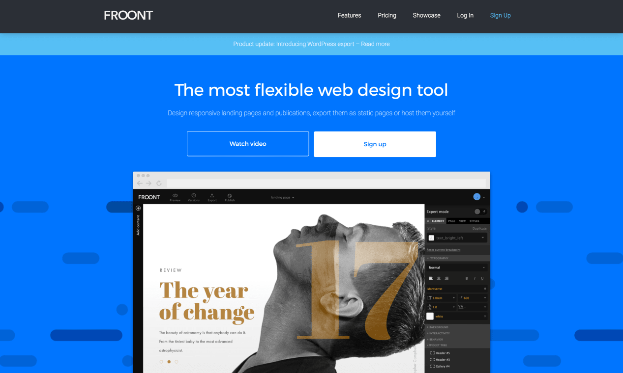 Website of Froont