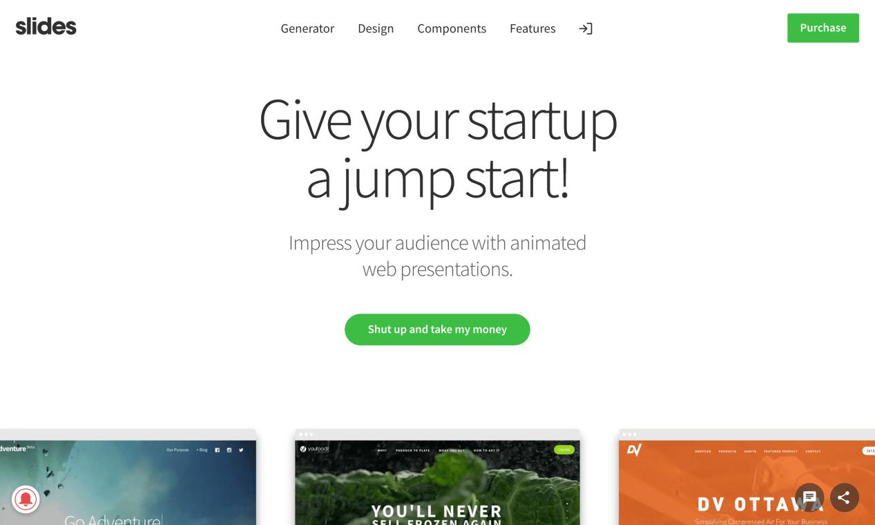 Website of Slides