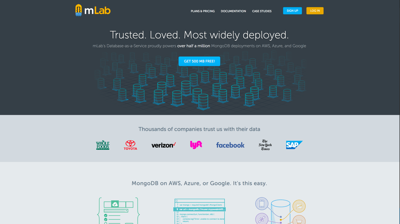 Website of mLab