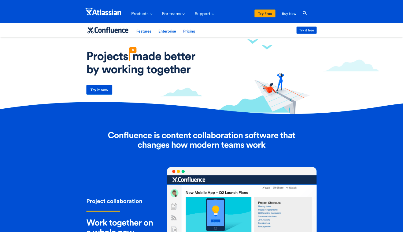 Website of Confluence