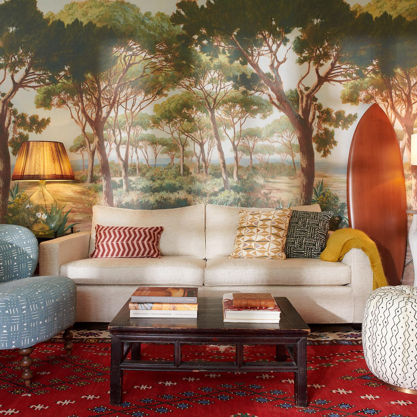 A lounge.