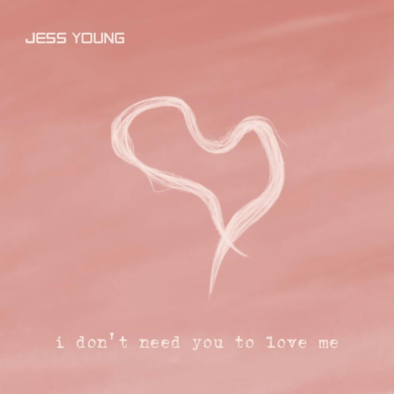A pink album cover with a heart on it.