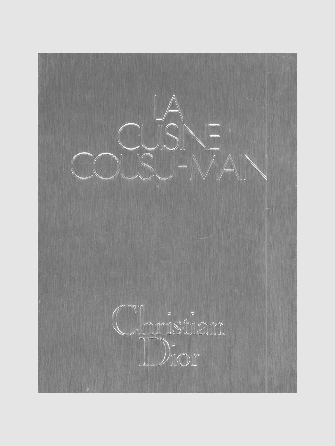 A silver book cover.