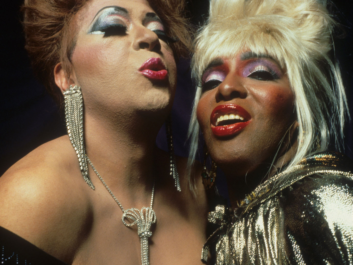 Two drag queens.