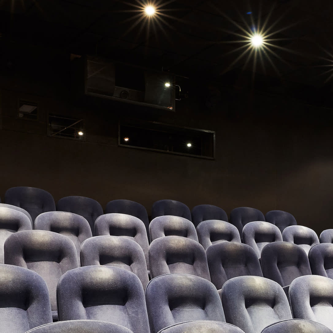 Cinema seating.