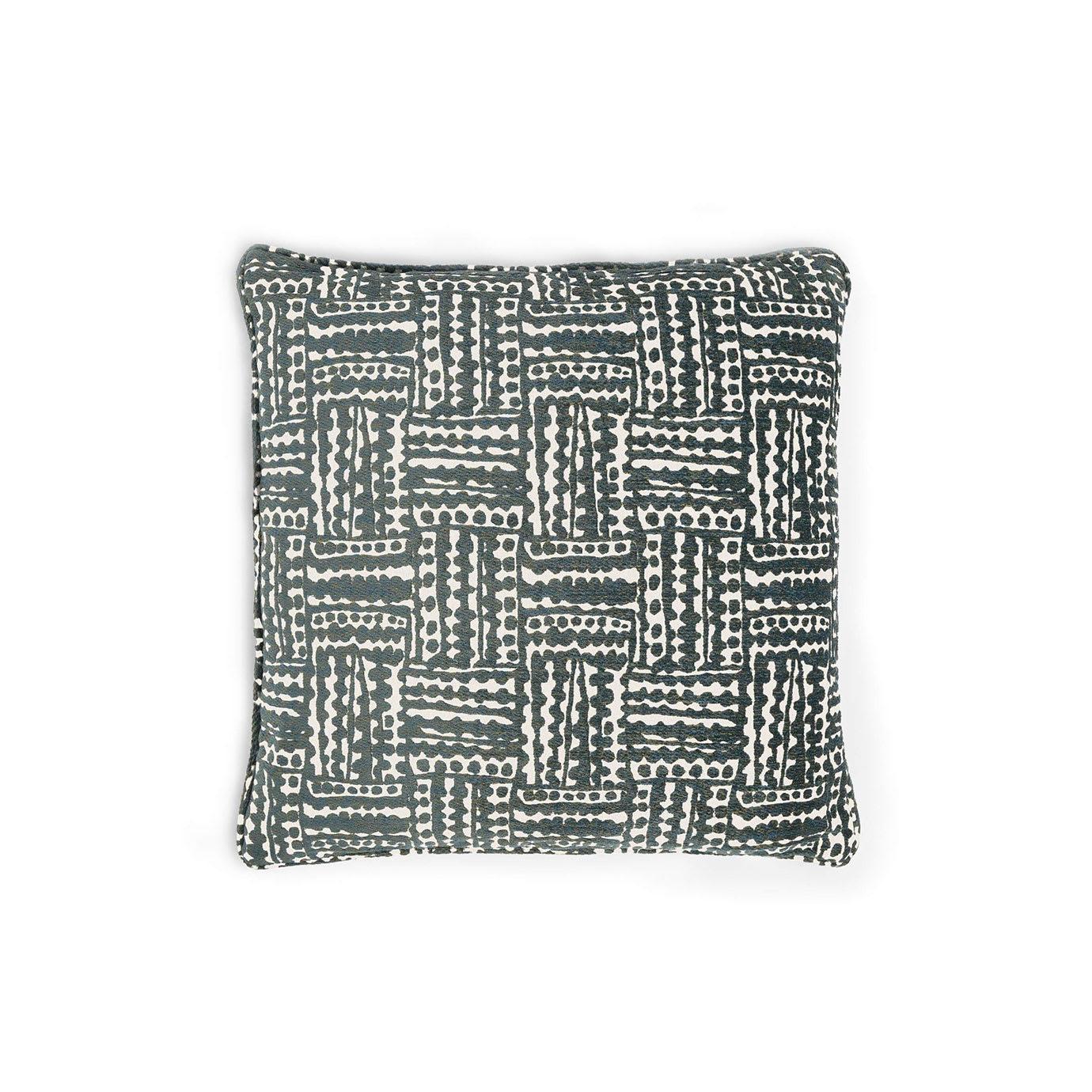 A striped cushion.