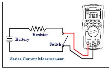 سنجش جریان با مولتی متر دیجیتال