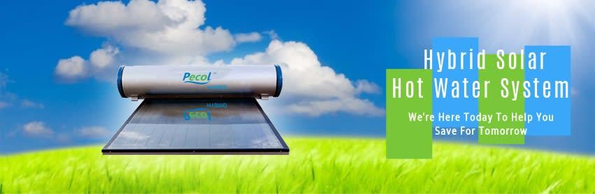 Pecol solar heater