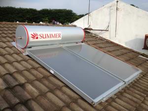 Summer Solar Water Heater