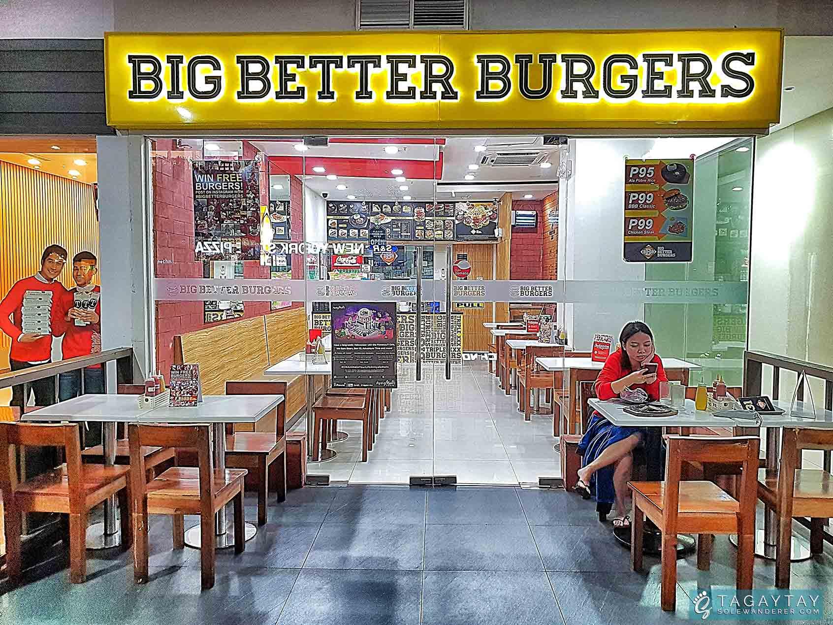 Big Better Burgers in 2nd Floor, Ayala Malls Serin