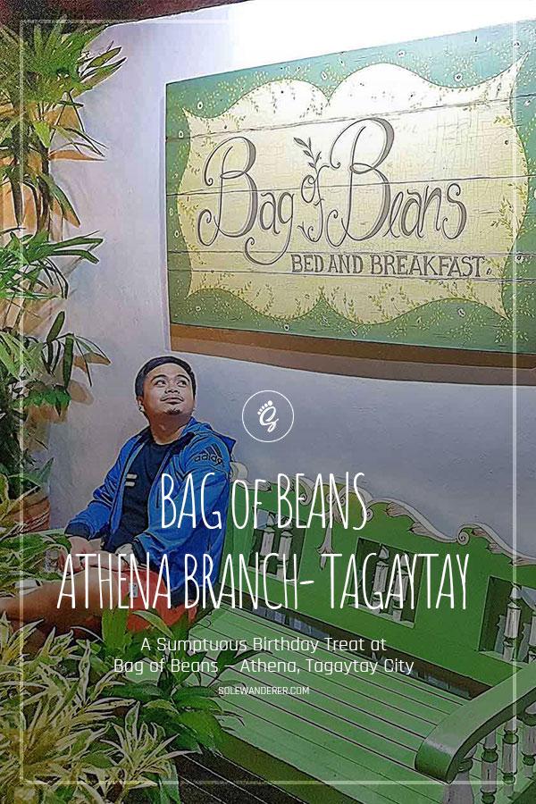Bag of Beans Athena Branch Pinterest
