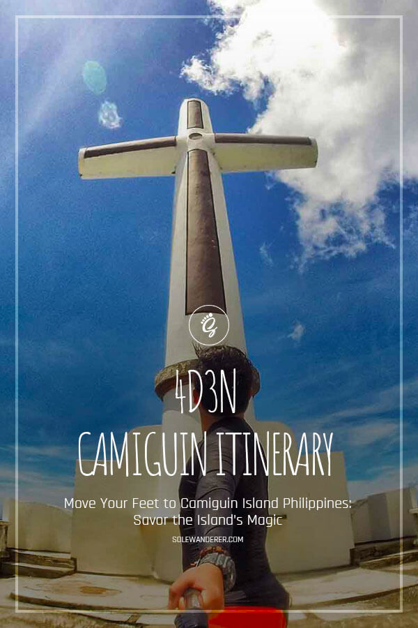 4 Days 3 Nights Camiguin Itinerary Pinterest
