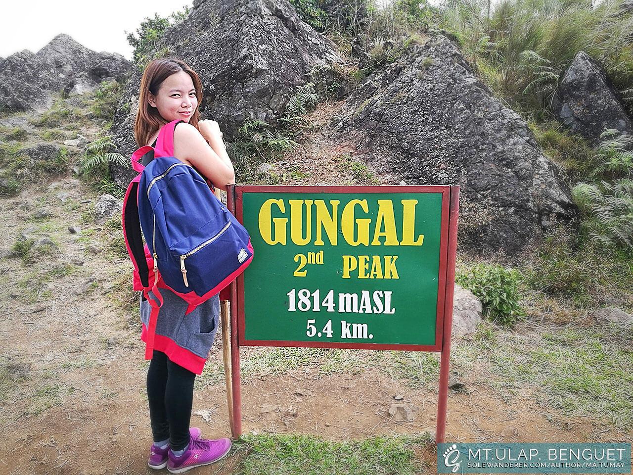 Mt Ulap Gungal Peak