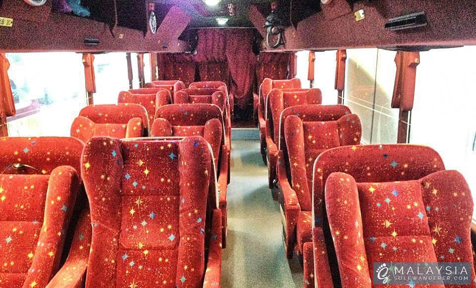 Bus Coach from Singapore to Kuala Lumpur