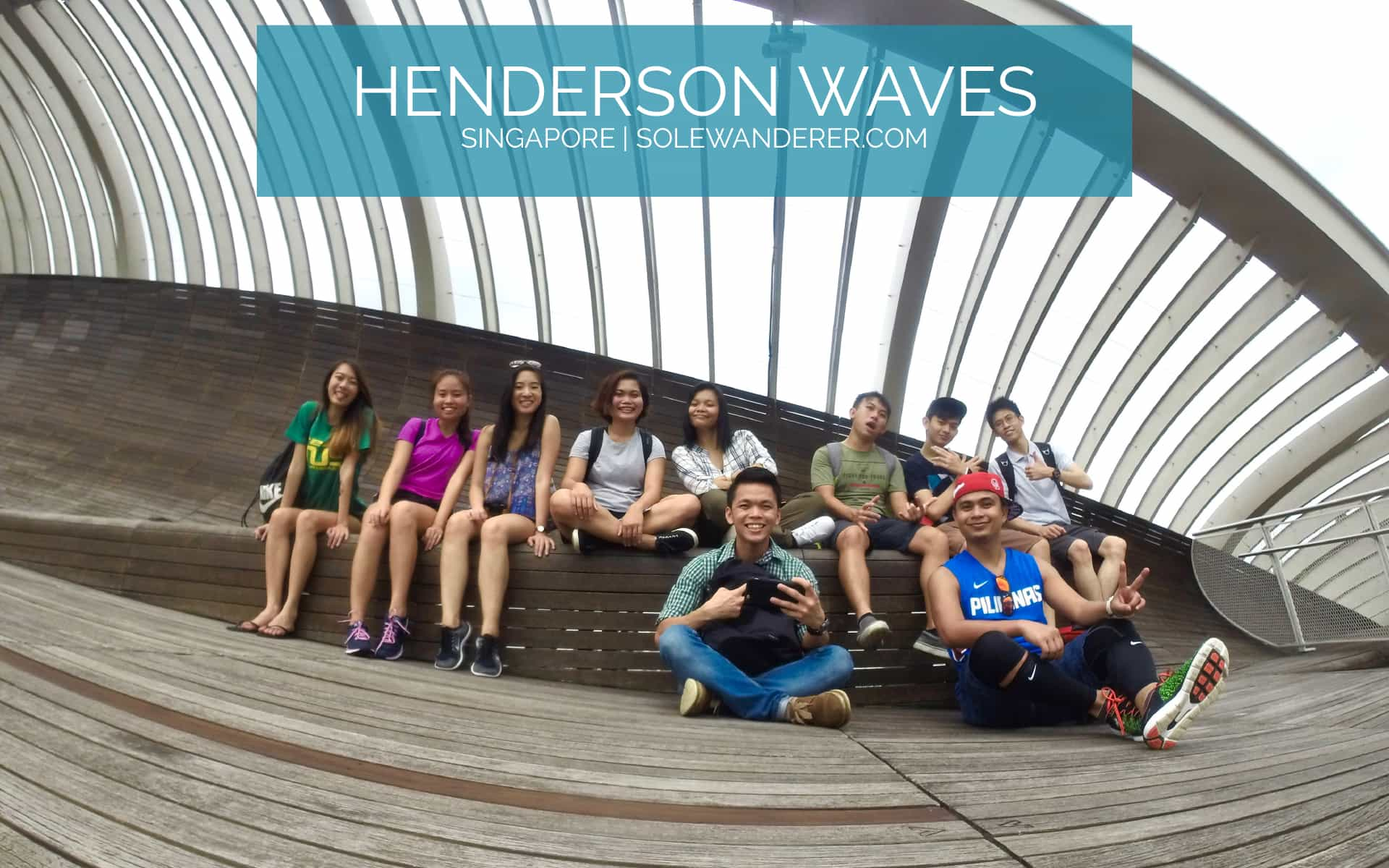 Henderson Waves Singapore -The Sole Wanderer.