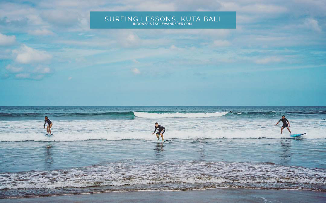 Catching First Wave Kuta Bali - Sole Wanderer