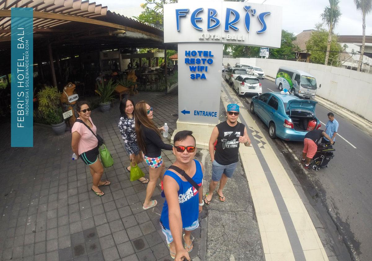 Febris Hotel Kuta Bali - Sole Wanderer