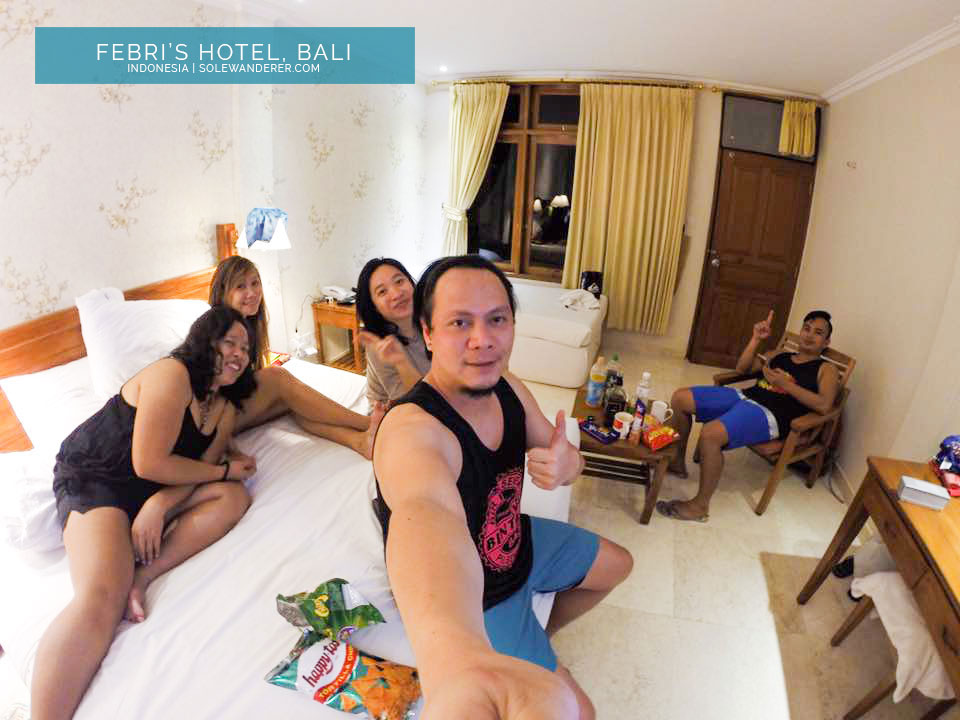 Febris Hotel Luxurious Accommodation Kuta Bali - Sole Wanderer