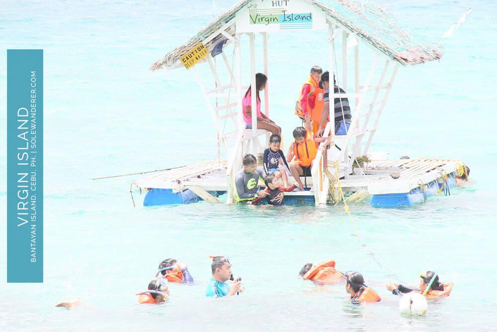 Floating Nipa Hut Virgin Island Bantayan - Sole Wanderer