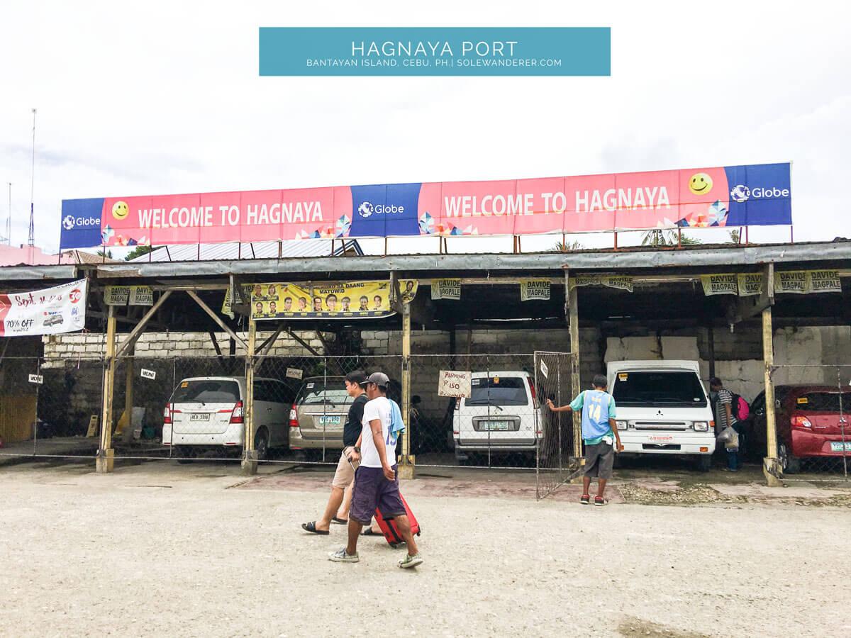 Hagnaya Port Bantayan Cebu - Sole Wanderer