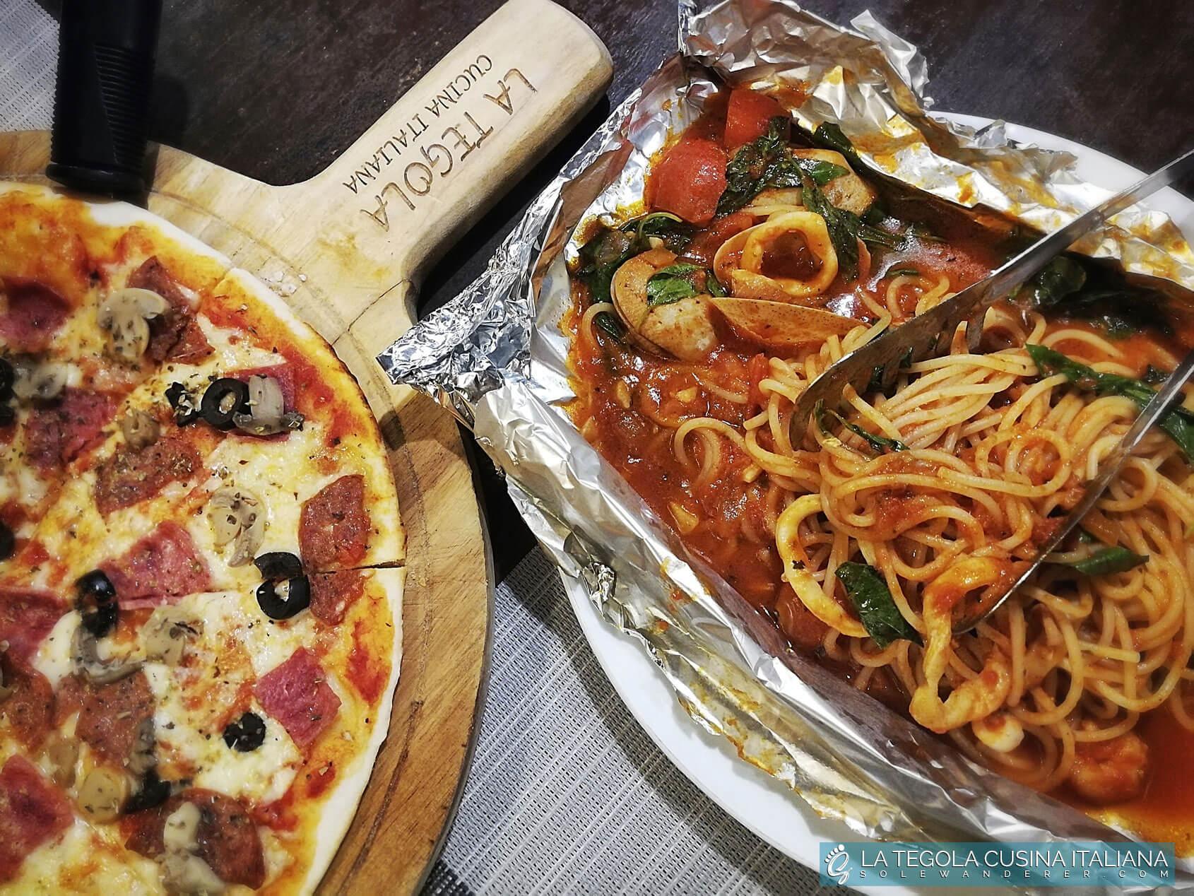 La Tegola Cucina Italiana Dishes