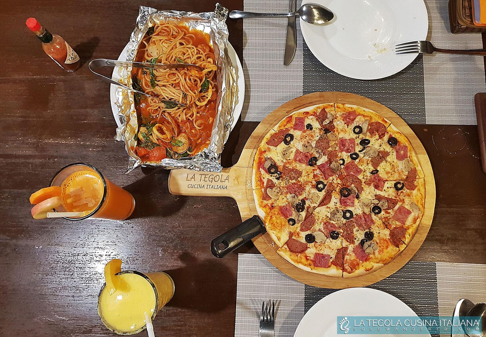 La Tegola Cucina Italiana Dining
