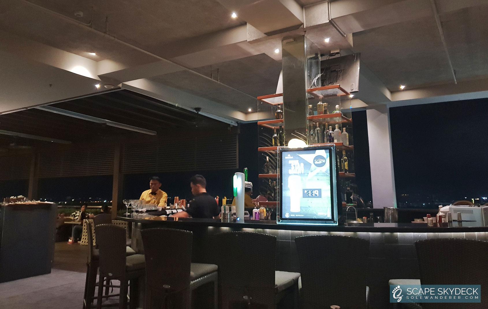 Scape Skydeck Bar