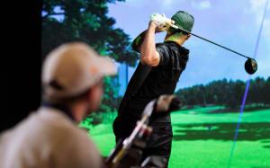 Tilbud om gratis prøvetime fra Indoor Golf by Pinetree