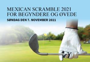 Tilmelding til Mexican Scramble for begyndere og øvede 7. november er åben