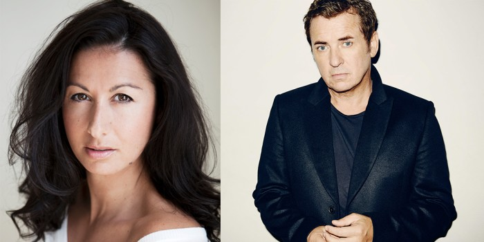 Shane Richie and Hayley Tamaddon