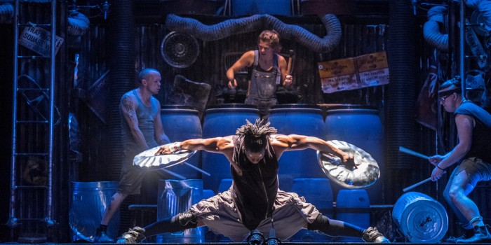 Stomp at the Ambassadors Theatre (Photo: Steve McNicholas)