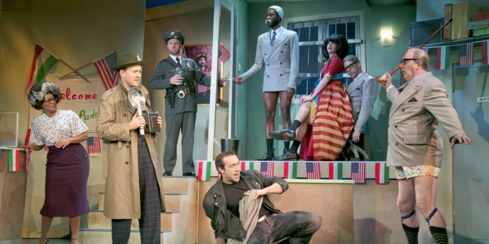 The Comedy About A Bank Robbery at Criterion Theatre (Photo: Darren Bell)