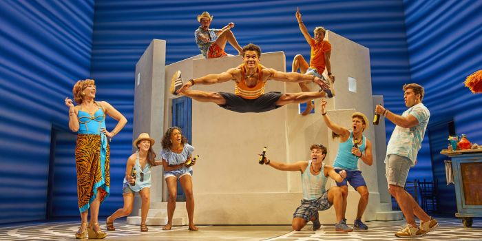 Mamma Mia at The Novello Theatre (Photo: Brinkhoff & Mögenburg)