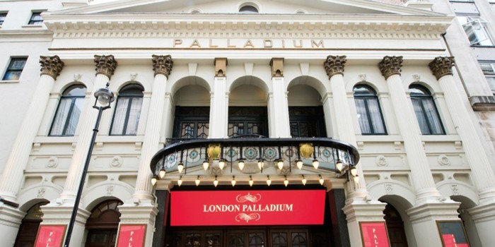 The London Palladium is an iconic London West End venue