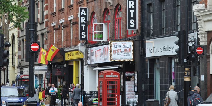 The Arts Theatre is London's West End's smallest