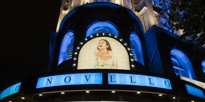 The Novello Theatre London hosts Mamma Mia!