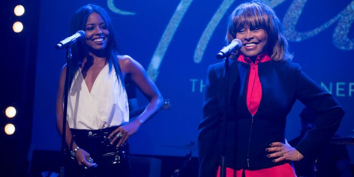 Adrienne Warren and Tina Turner at the Tina - The Tina Turner Musical launch