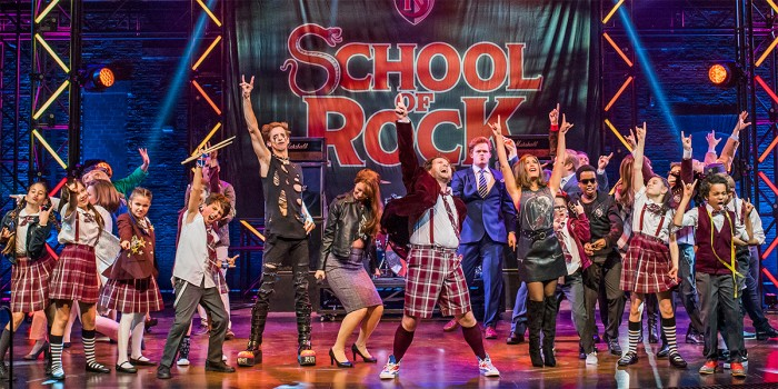The School Of Rock at The New London Theatre (Photo: Tristram Kenton)