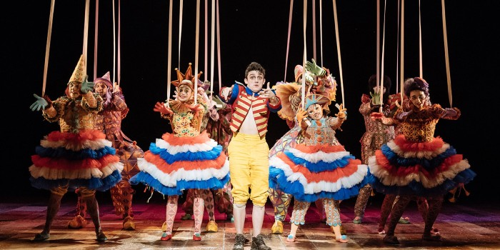 Pinocchio at the National Theatre (Photo: Manuel Harlan)