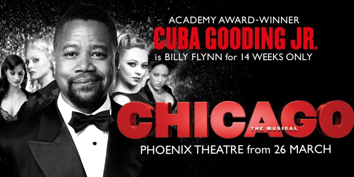Chicago tickets at Phoenix Theatre London