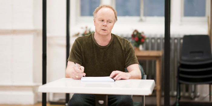 Jason Watkins in rehearsal for Frozen at Theatre Royal Haymarket (Photo: Johan Persson)