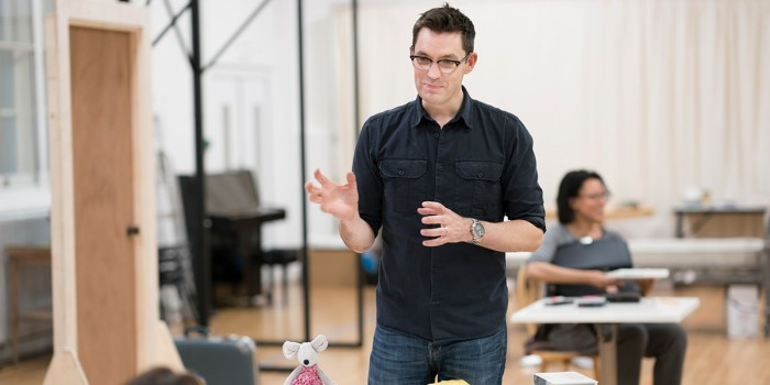 Jonathan Munby (Director) in rehearsal for Frozen at Theatre Royal Haymarket (Photo: Johan Persson)