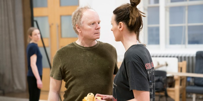 Jason Watkins and Suranne Jones in rehearsal for Frozen at Theatre Royal Haymarket (Photo: Johan Persson)