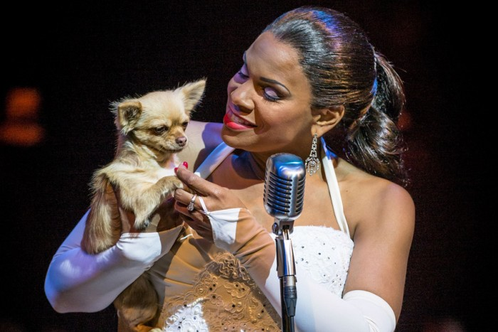 Audra McDonald and Tilly in Lady Day At Emerson's Bar & Grill